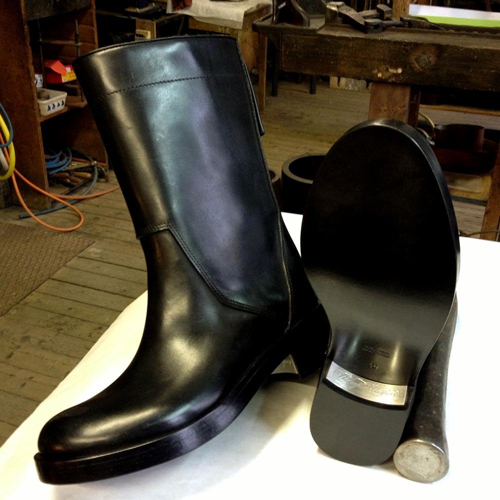 orfevre-plaquer-talon-botte-chaussure