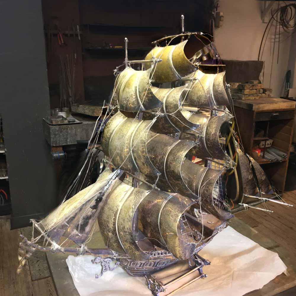 restaurateur-maquette-voilier-argenterie